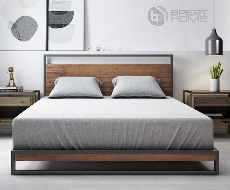 تخت خواب راحت طوسی رنگ